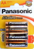 BAT-R6-0840   Bateria LR6 Panasonic Alkaline Power; blister 4 szt.